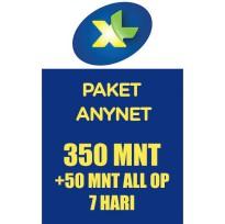 Paket Telp & SMS XL - Paket Nelpon - XL KpnAja Nelp 350mnt sesama+50mnt all 7hr