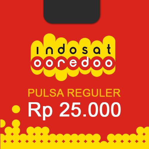 Pulsa Indosat Reguler - Indosat 25.000