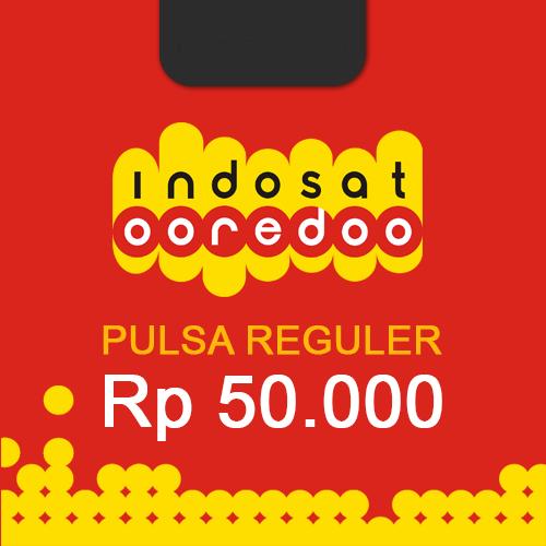Pulsa Indosat Reguler - Indosat 50.000