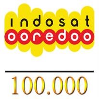 Pulsa Indosat Reguler - Indosat 100.000